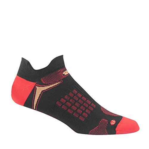 New Balance NBx Hydrotec NoShow Double Tab Socks >>> Click image to review  more details. (This is an affiliate link) … | Active wear for women, Black  and red, Socks