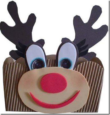 Manualidades Navidad Goma Eva con moldes, papá Noel | Divertidas de ...
