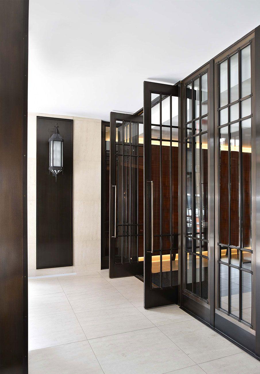 Internal Affairs Interior Designers: Metal Doors Design