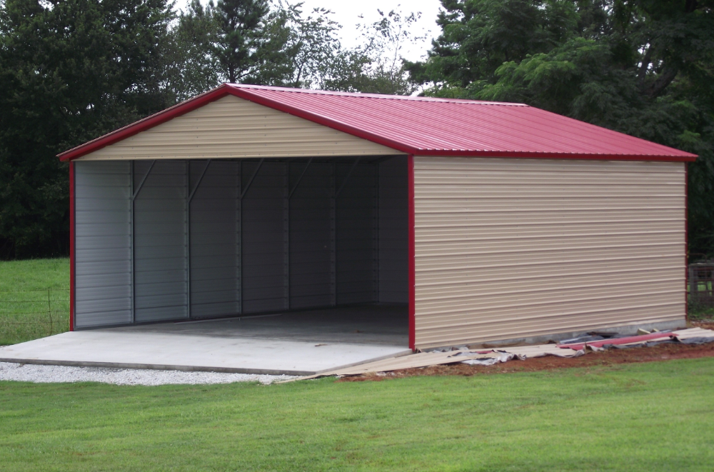 Standard Carport Custom Options Portable carport