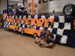 homecoming float ideas - Race to Victory