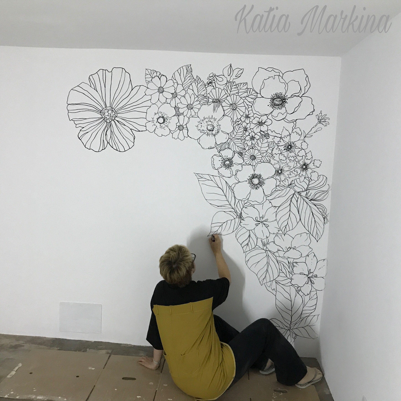 Rotuladores Posca En Pleno Rendimiento Dia 2 Mural En El  # Muebles Portazgo