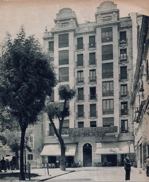 1932 Plaza Del Rey Madrid Spain Spain Madrid