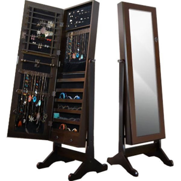 This Full Length Jewellery Armoire, With Simple Style And Hidden  Practicality, Works Well