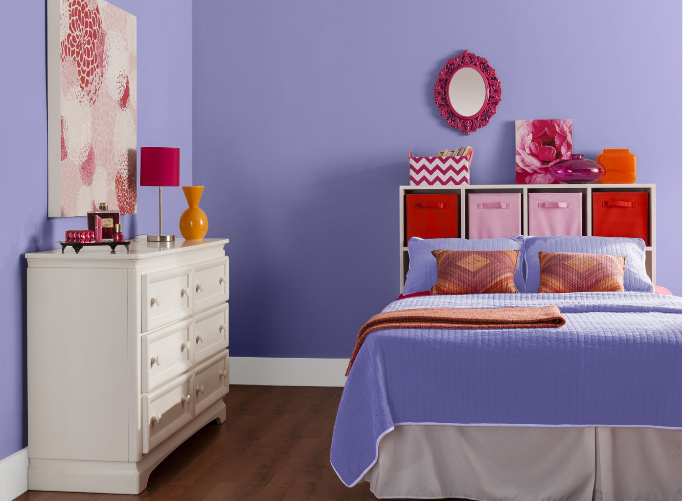 dewy iris painted room bedroom in dewy iris with images on home depot wall paint colors id=98273