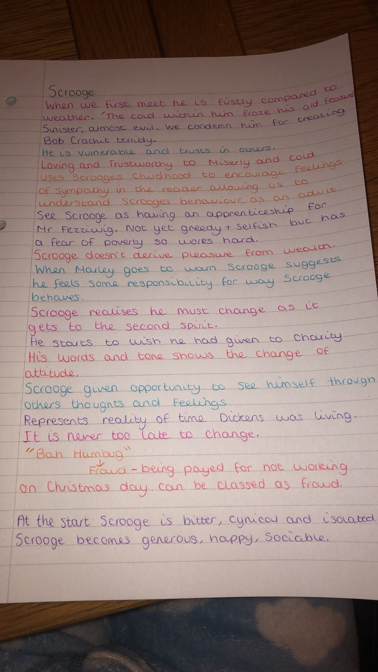 Pin by Revision_1 on English Literature Revision notes (With images)   A christmas carol ...