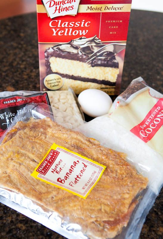 Cookie recipe using boxed cake mix