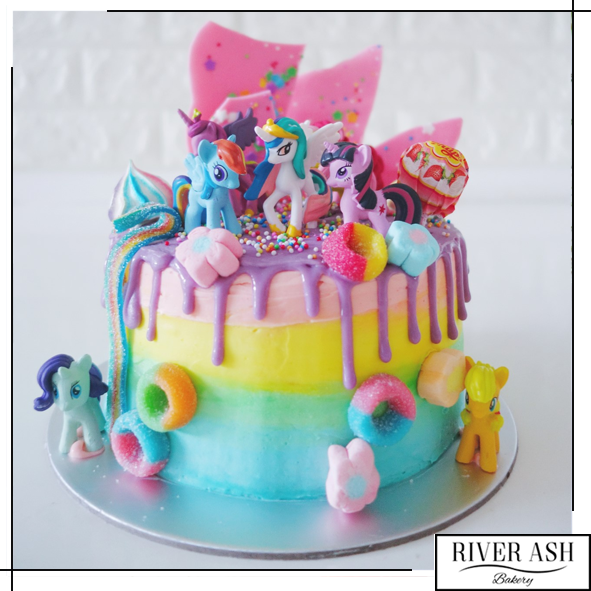 My Little Pony Candyland Cake in 2019 | Kids-themed Cakes | Pony