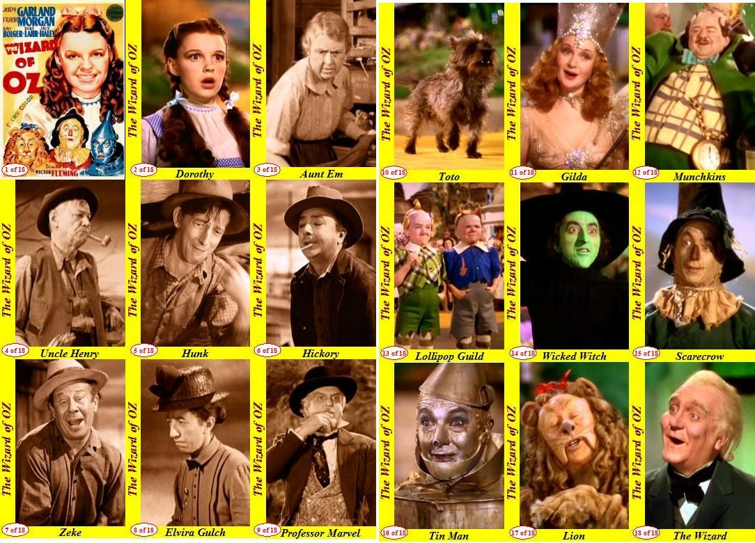 Wizards of Oz All Characters | Movies | Wizard of Oz