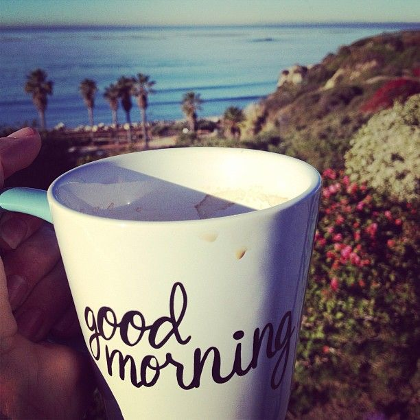 Good Morning Coffee At The Shores Lajolla San Clemente