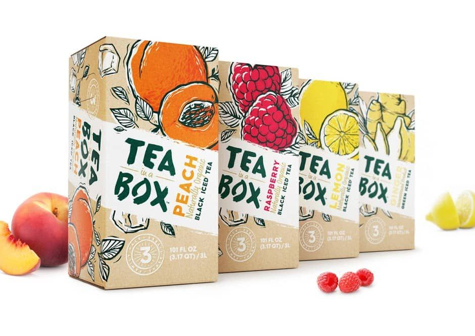Inspiration #2 : 10 Packagings pour t'inspirer #teapackaging
