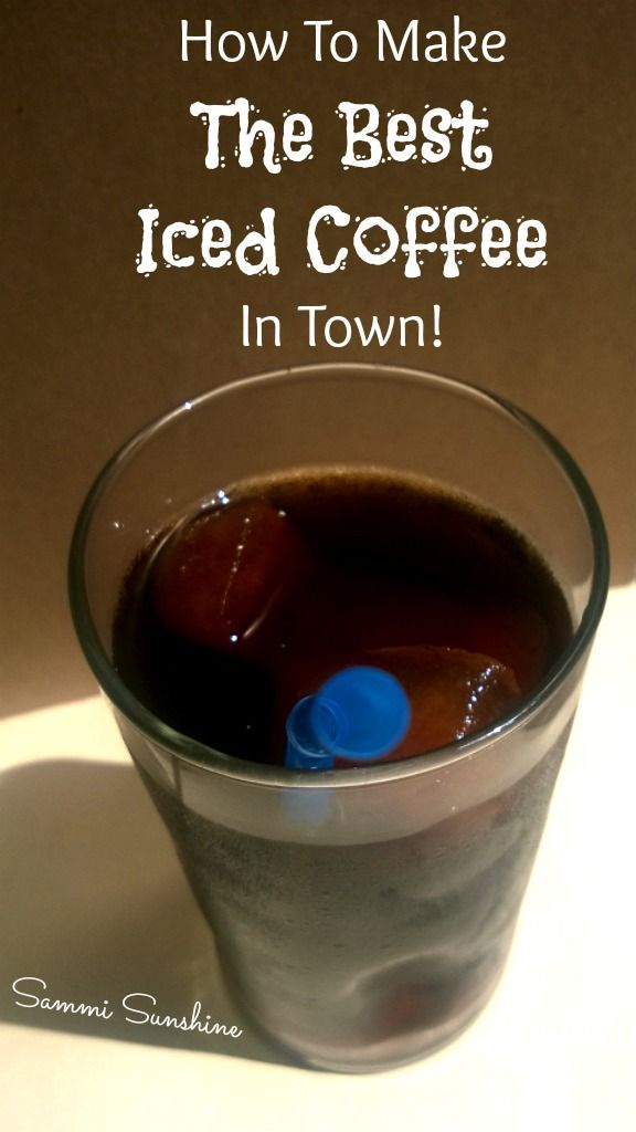 How To Make Iced Coffee   How to make ice coffee Best ...