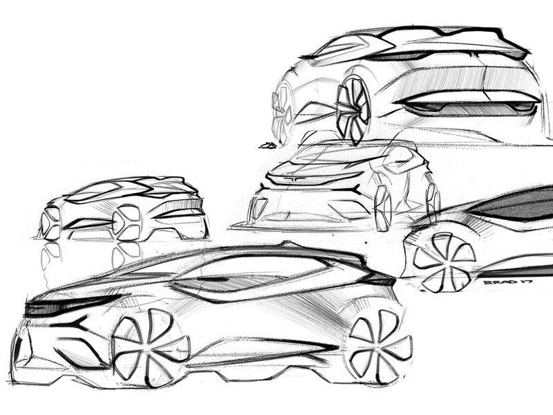 Pingl par st phane toussaint sur sketchs ideas and help pinterest - Croquis voiture ...