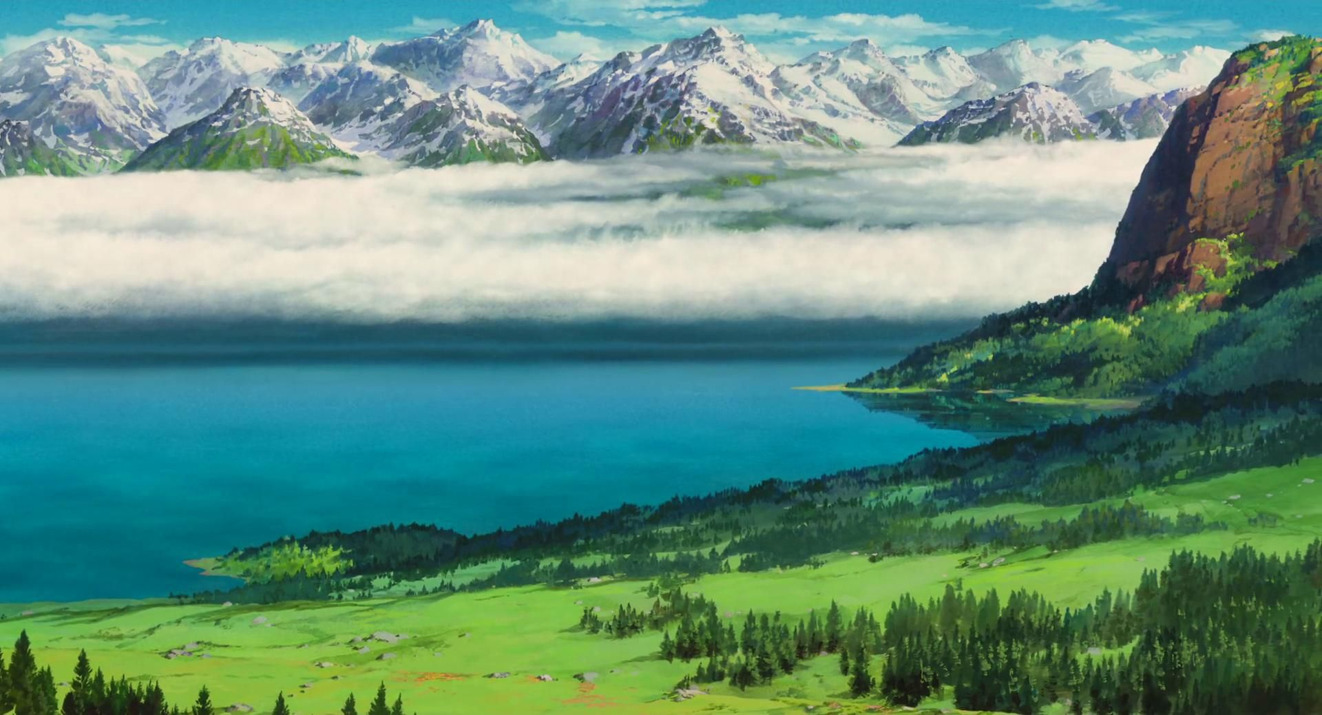 Anime Landscapes wallpaper city and land scapes