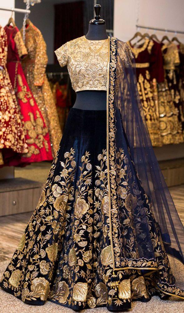 Clothing, Shoes & Accessories Bollywood Bollywood Lehenga Choli Wedding Bridal Party Wear Fancy Dress Indian Refreshment Women's Clothing