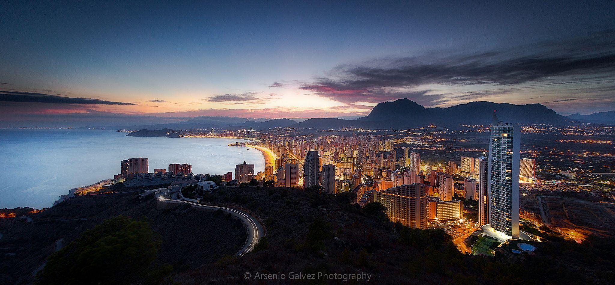 City & Lights by Arsenio Gálvez on 500px