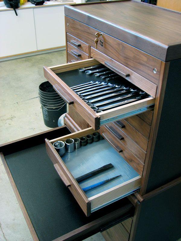 Rodandcustomshow Wood Tool Box Mechanic Tools Wood Tool Chest