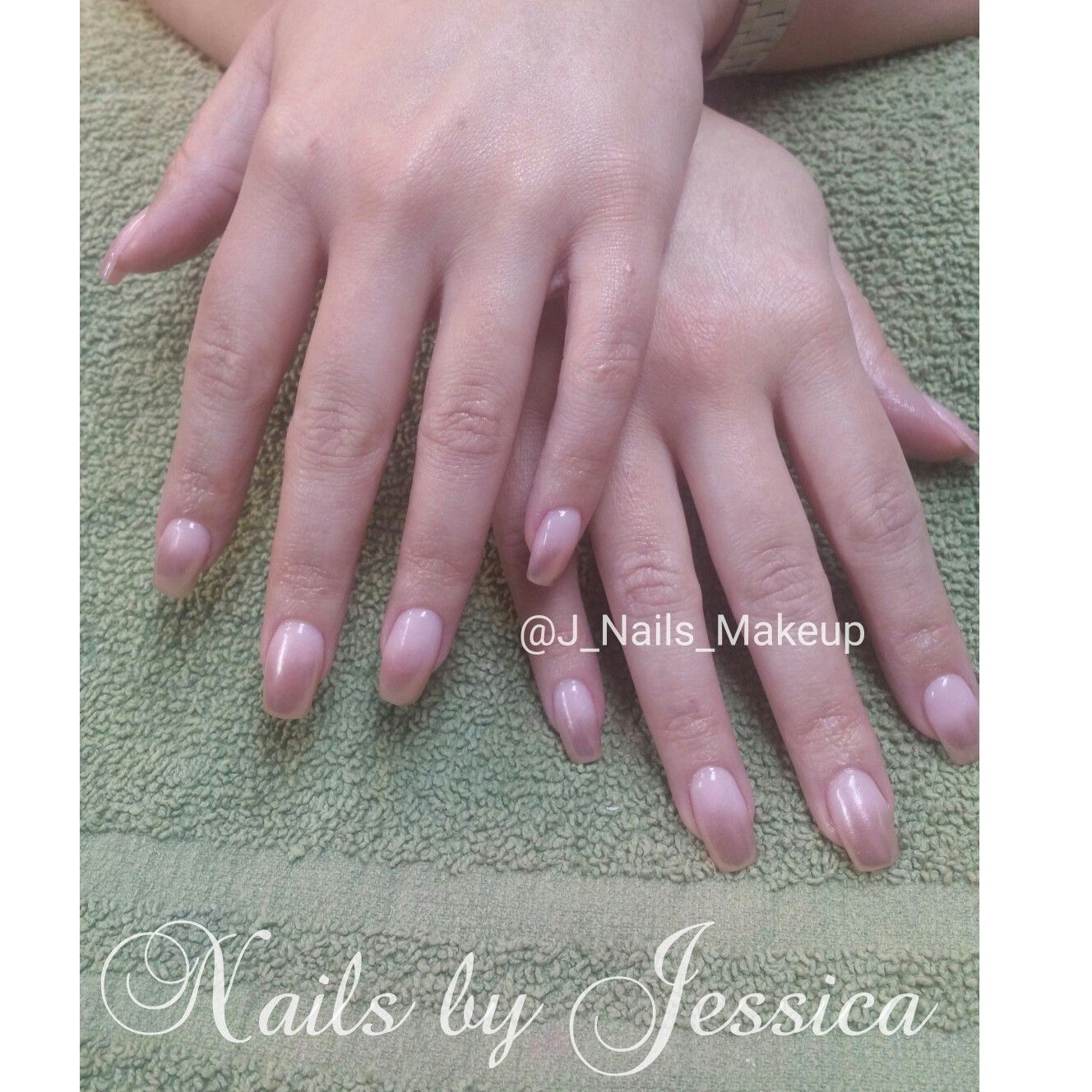 Nexgen dip powder with ombre rose gold chrome. Dip nails | Nails By ...