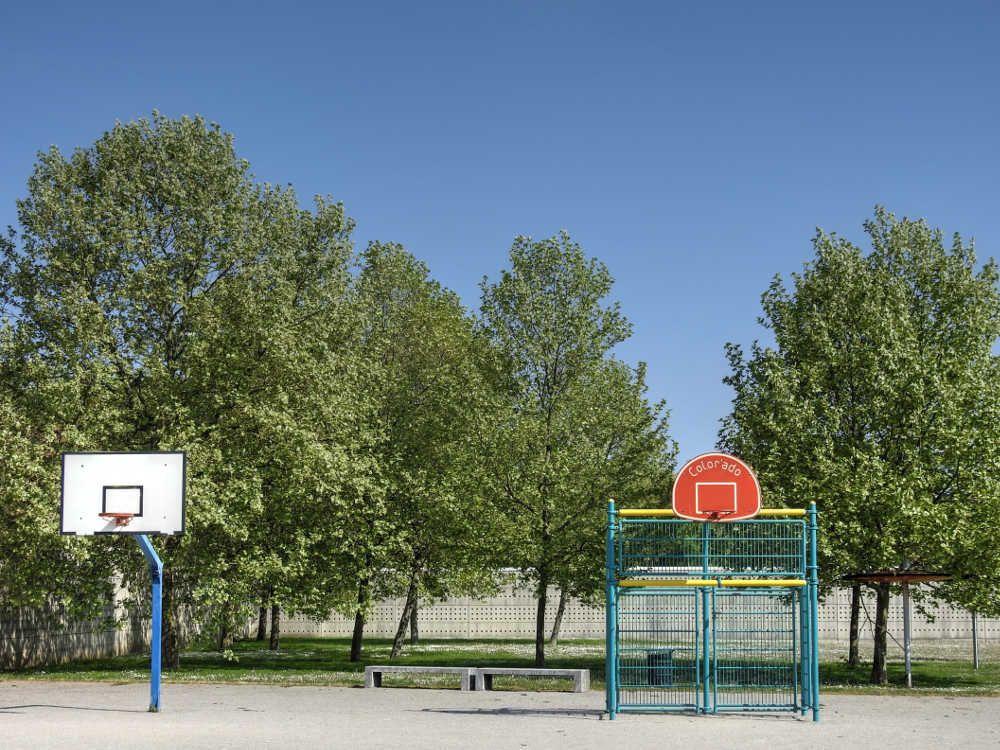 Parc du Champ Saint-Julien à Valenton - Paniers de basket