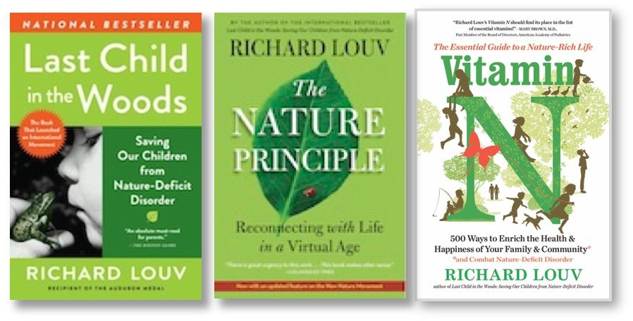Seven Reasons For The New Nature Movement Richard Louv Nature Kids Richard