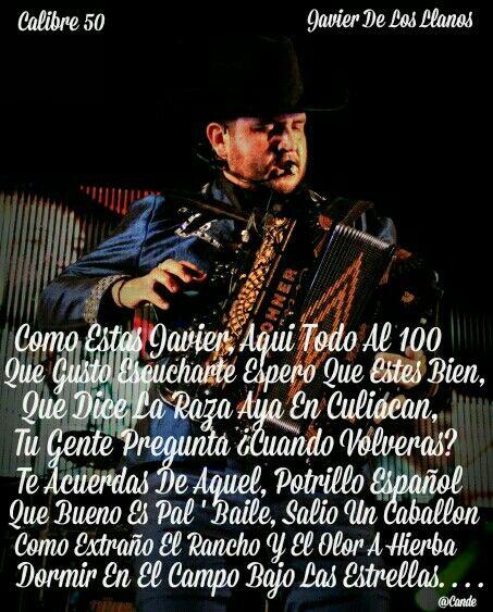 Calibre 50 Javier De Los Llanos Musica Pinterest Music