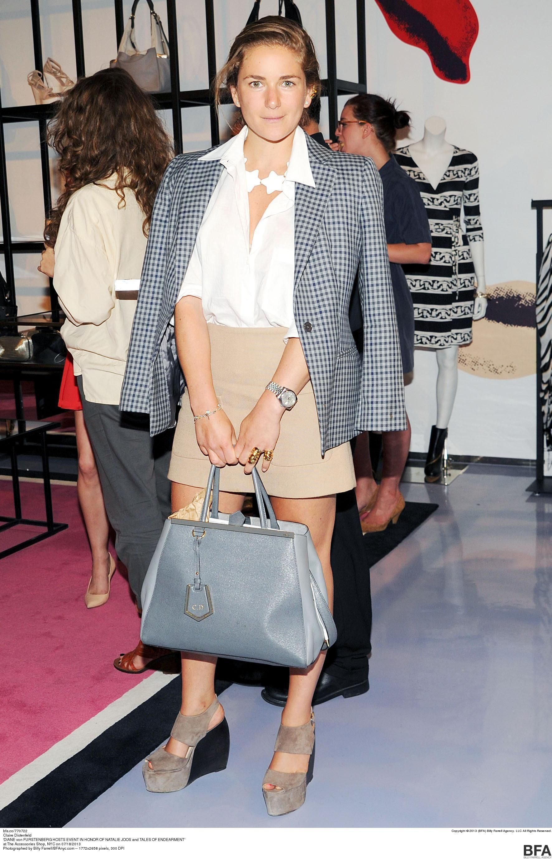 What is Claire Distenfeld's most wanted #NYFW item?