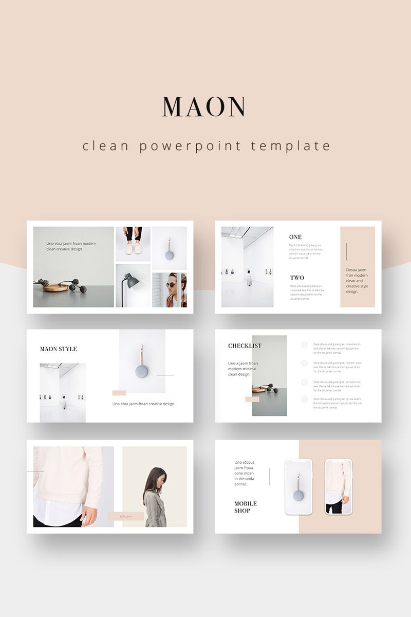 Maon Powerpoint Template Powerpoint Template 75343