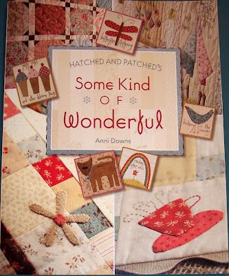 """""""Some Kind of Wonderful"""" by Hatched and Patched - has the cutes quilt ever """" My Favourite Things"""""""