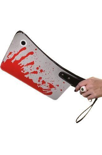 Bloody Cleaver Clutch Purse