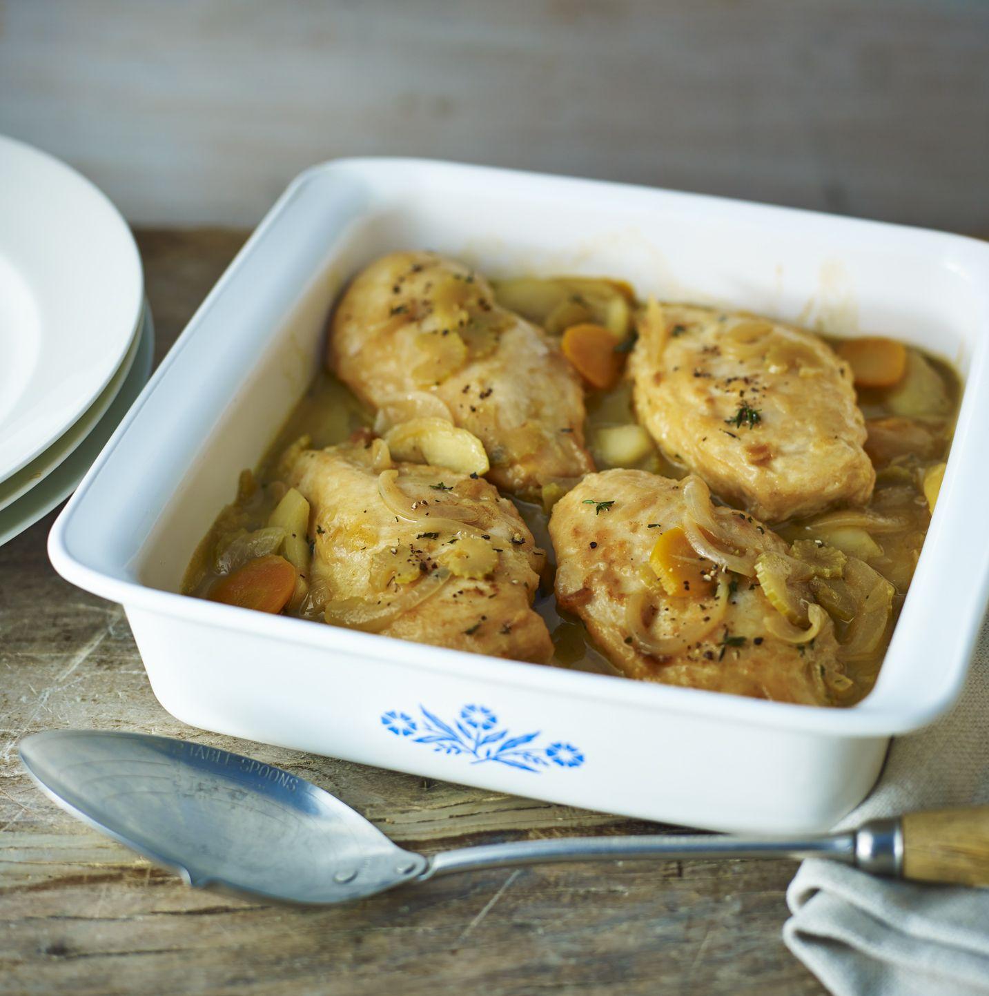 Chicken cider and apple casserole recipe chicken thighs chicken cider and apple casserole recipe chicken thighs chicken breasts and thighs forumfinder Gallery