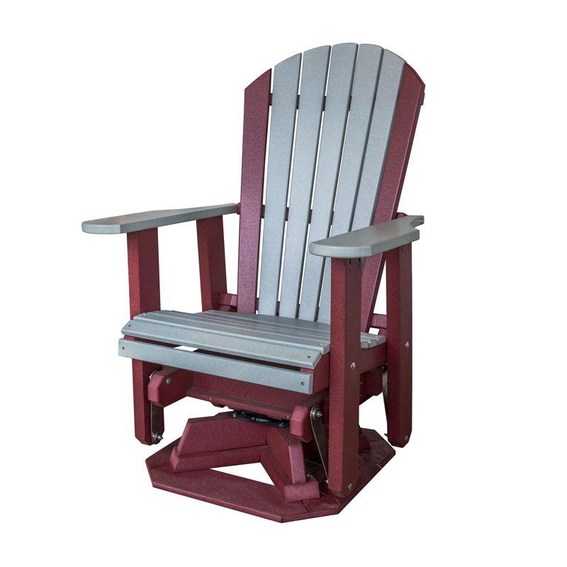 Adirondack swivel glider shipshewana furniture co