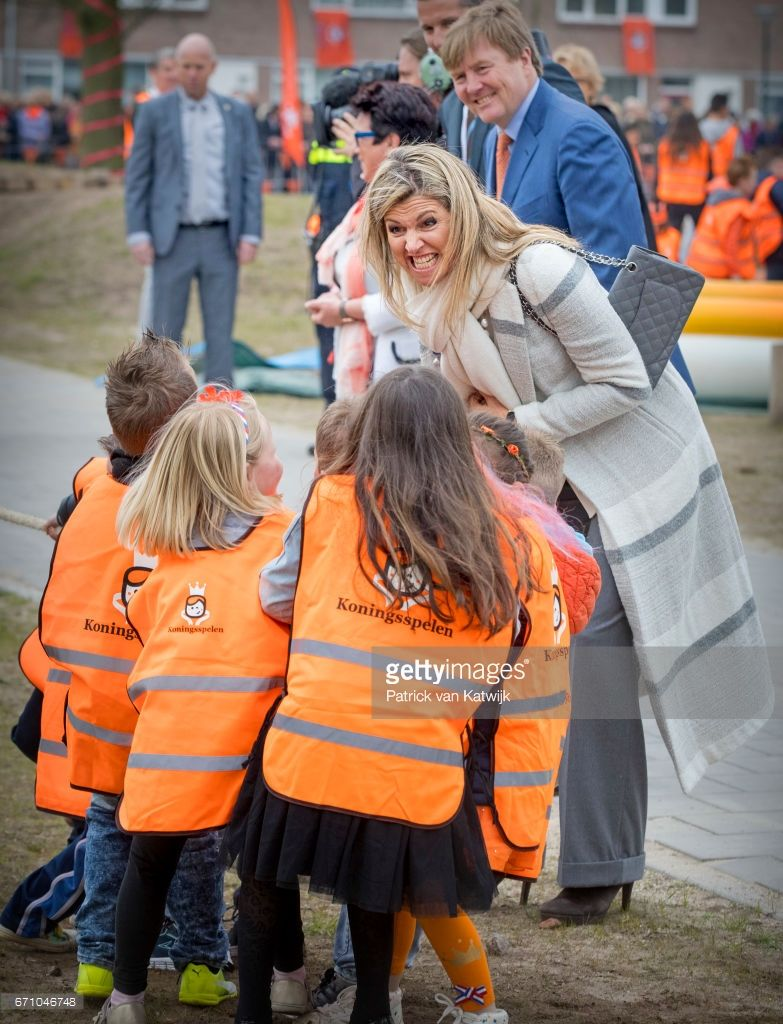 News Photo : King Willem-Alexander and Queen Maxima of The...