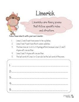 Limericks – A collection of poems and writing templates. – Mash.ie