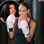 Look Out Teresa Giudice!  Melissa Gorga Takes Boxing Lessons - http://celeboftea.com/look-out-teresa-giudice-melissa-gorga-takes-boxing-lessons/