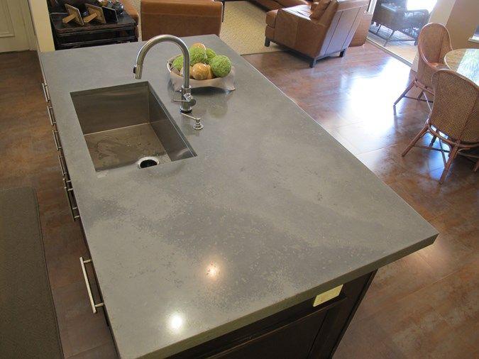 Superbe Kitchen Island, Undermount Sink Concrete Countertops Thiel Design Studios,  Inc. West Palm Beach, FL