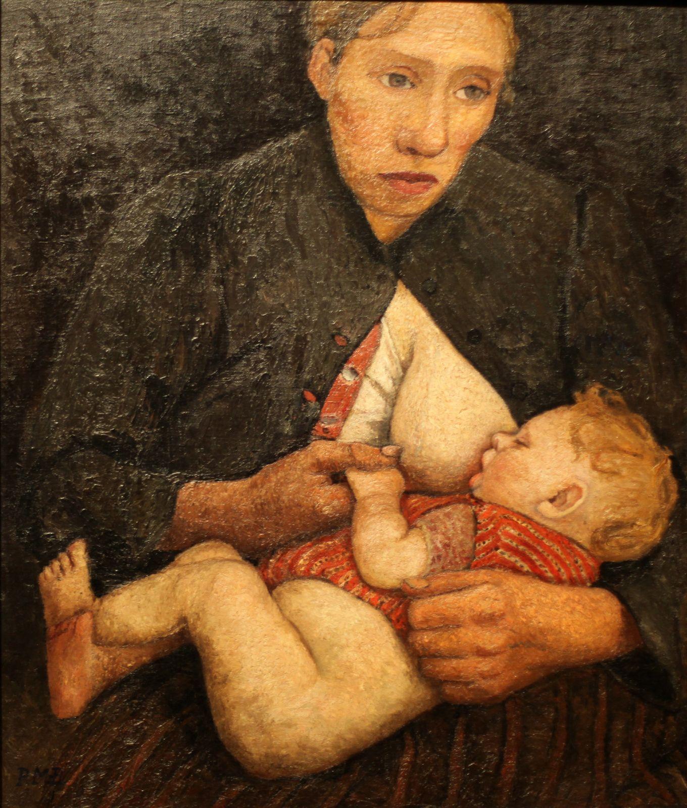 """Expo Peinture Contemporaine Paula MODERSOHN BECKER """"L Intensité D"""