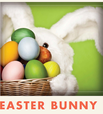 Get your picture taken with the Easter Bunny at