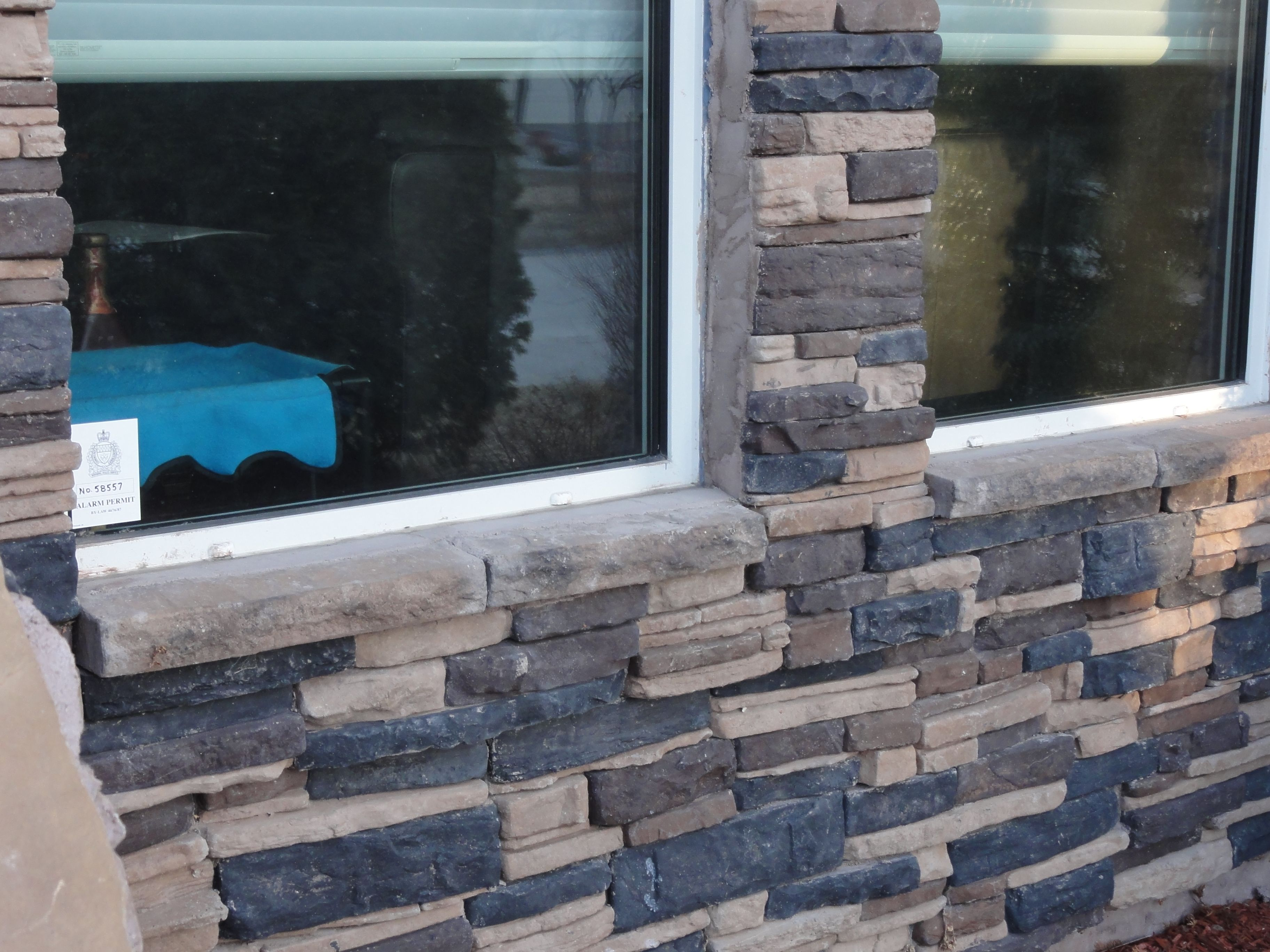 how to install stone veneer on the front of your house diy and
