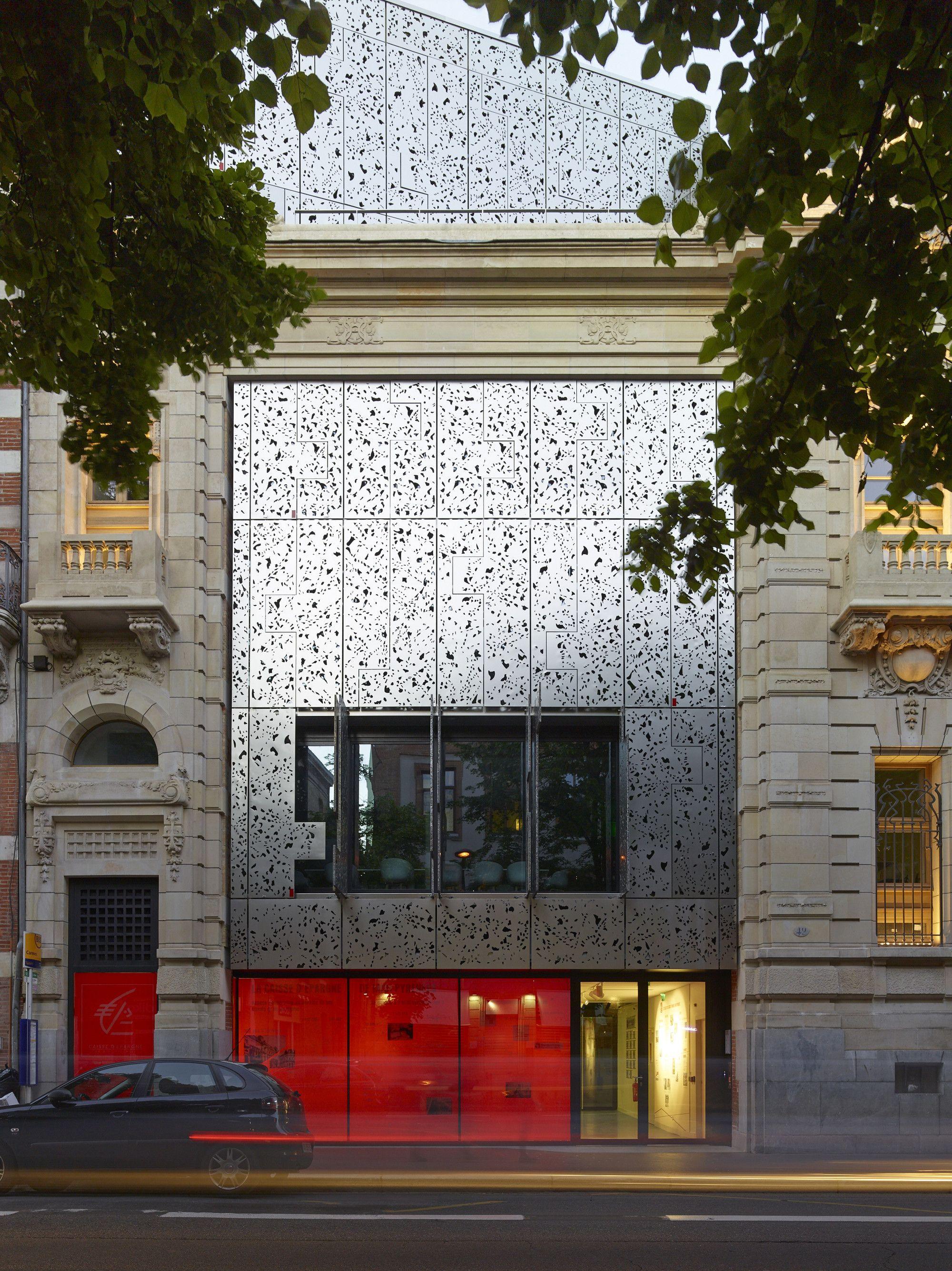 gallery of caisse d epargne headquarters taillandier architectes associ s 1 pinterest. Black Bedroom Furniture Sets. Home Design Ideas