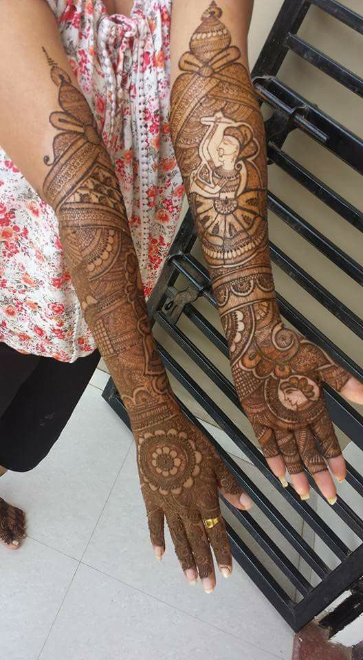 Dulhan mehendi design | sweta singh | Pinterest
