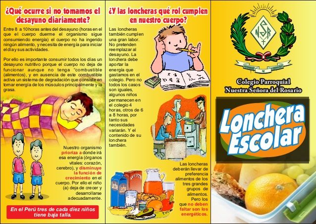 Alimentacion saludable en ninos pdf