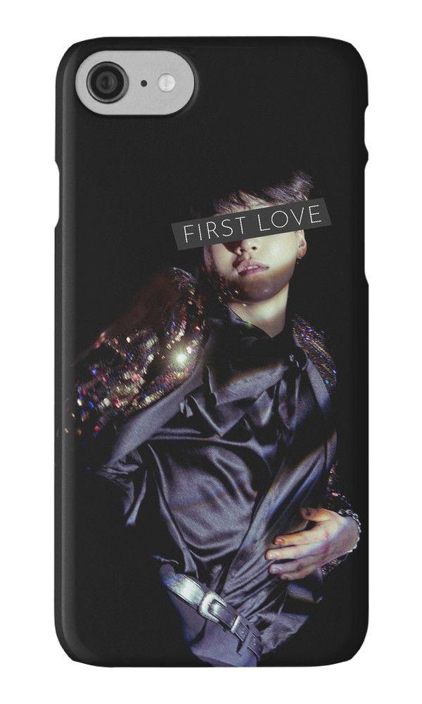 BTS SUGA First Love Logo iphone case