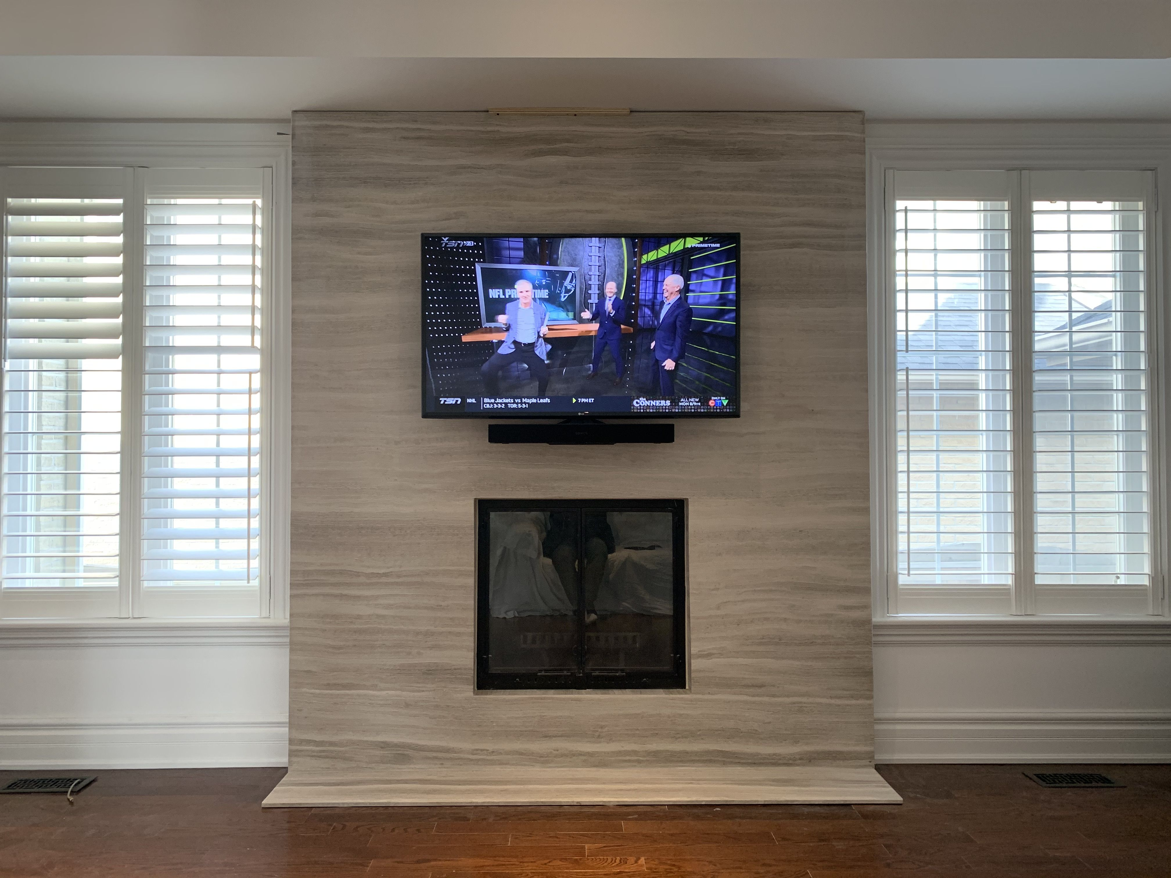 Sound Bar Installation Ideas Sound Bar Soundbar Wall House Styles