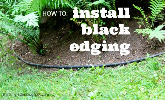 How To Install Landscape Bed Black Edging Landscape Edging Plastic Landscape Edging Plastic Garden Edging
