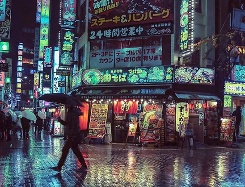 Tokyo Looks Like A Modern Day Cyberpunk Setting In These Photos Tokyo Night Night Photography Night Life