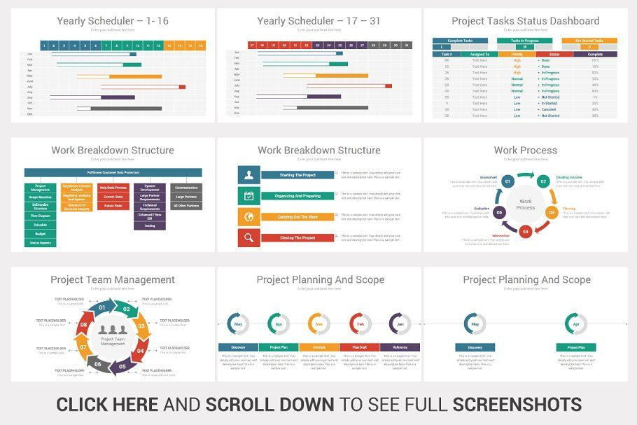 Project Planning Powerpoint Design In 2020 Project Management Dashboard Powerpoint Design Business Infographic