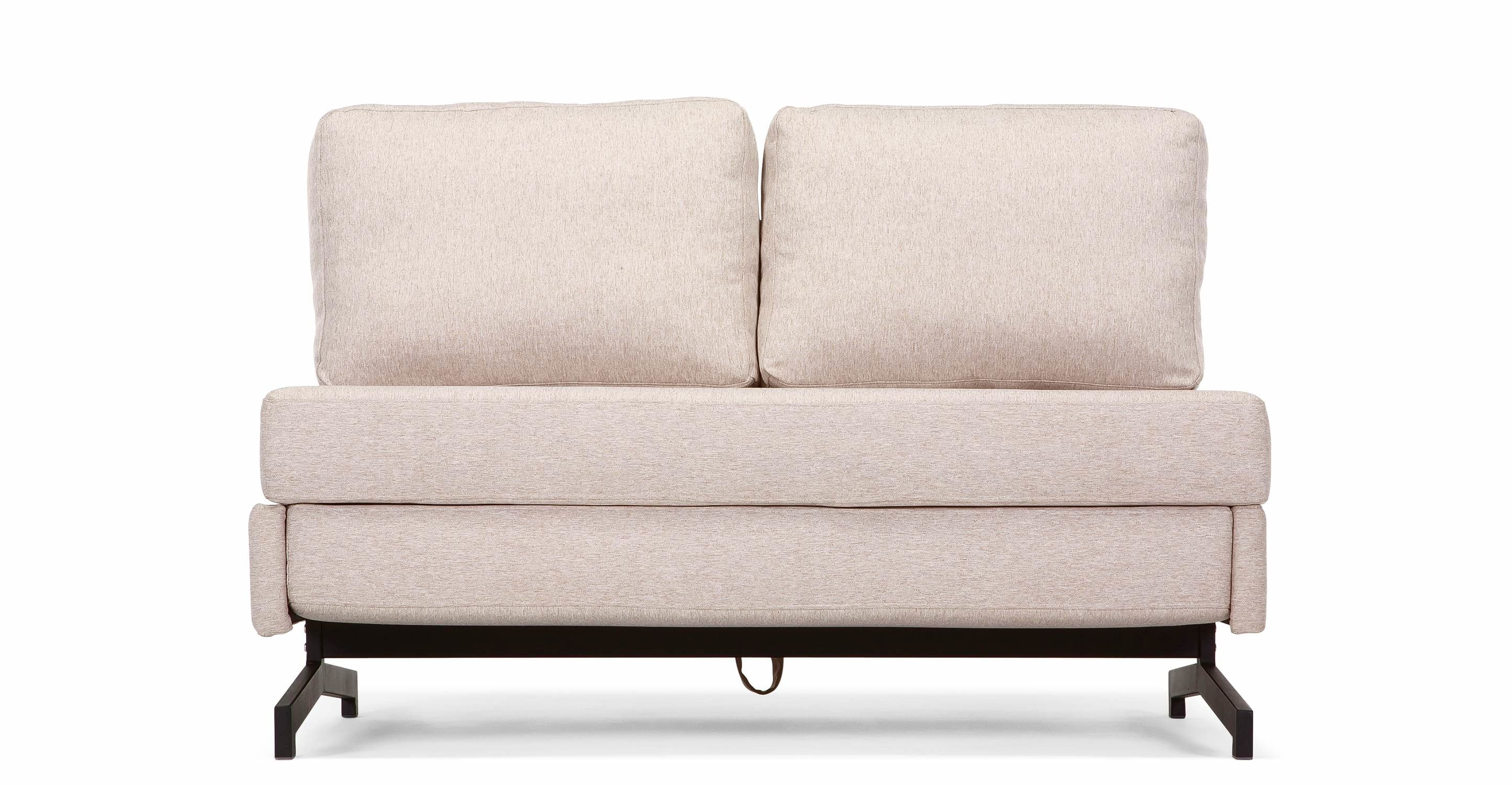 Motti Armless Sofa Bed, Pipit Beige Sofa bed uk, Modern