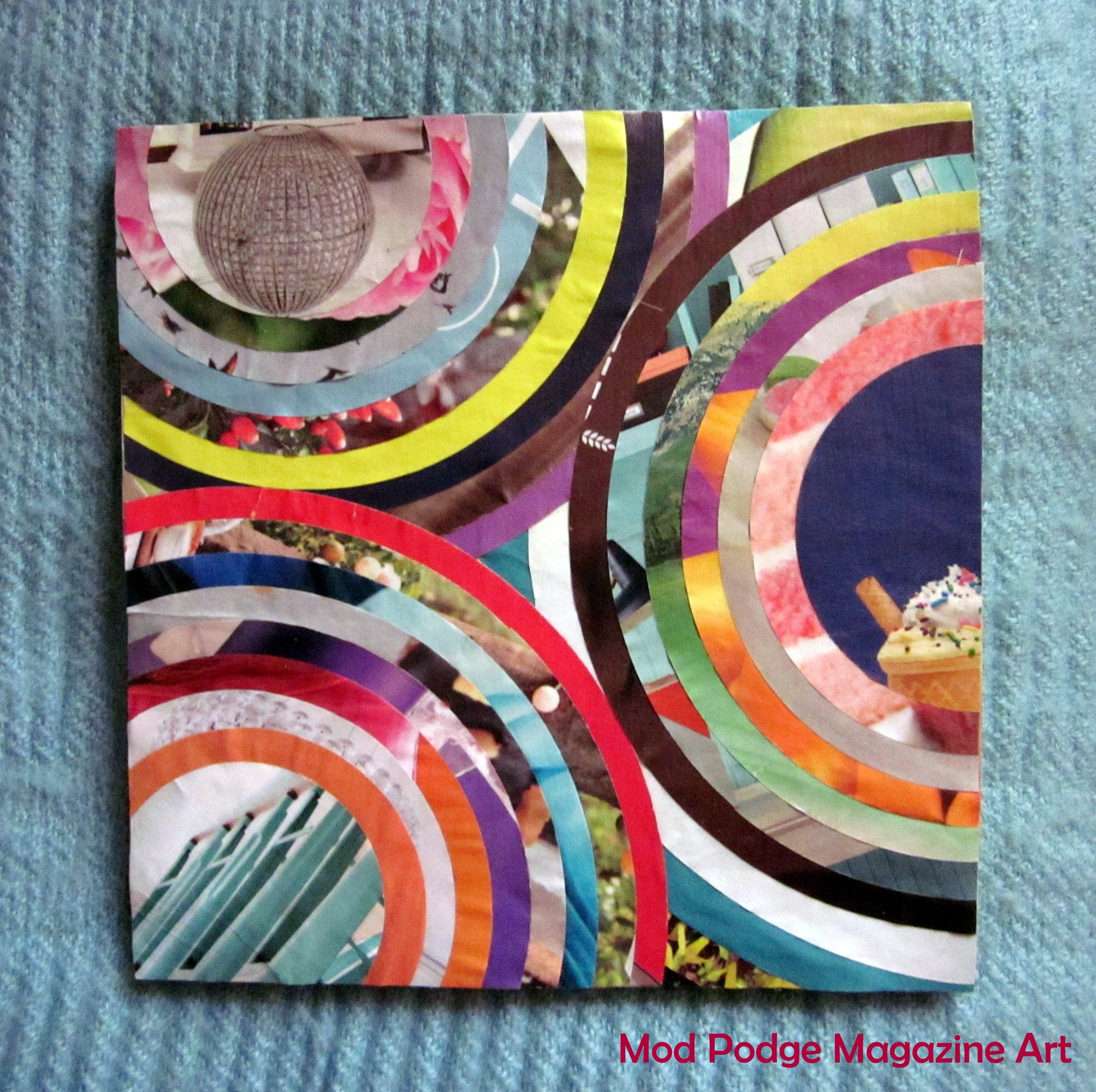 Color art magazine - Mod Podge Magazine Art Going To Have To Bust Out The Mod Podge And Make Some