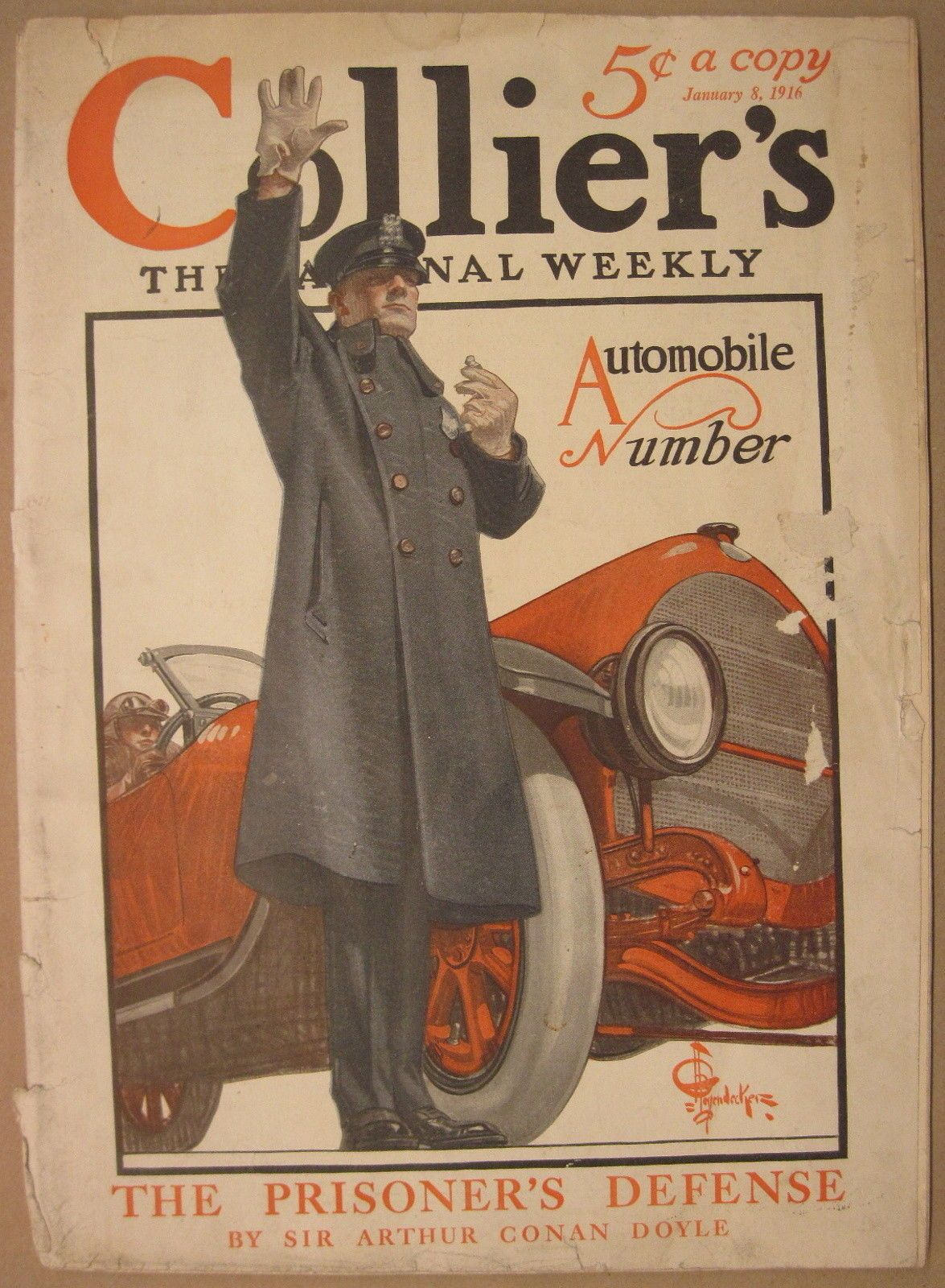 Vintage Collier\'s Weekly Magazine August 18, 1951 - Great Old Car ...