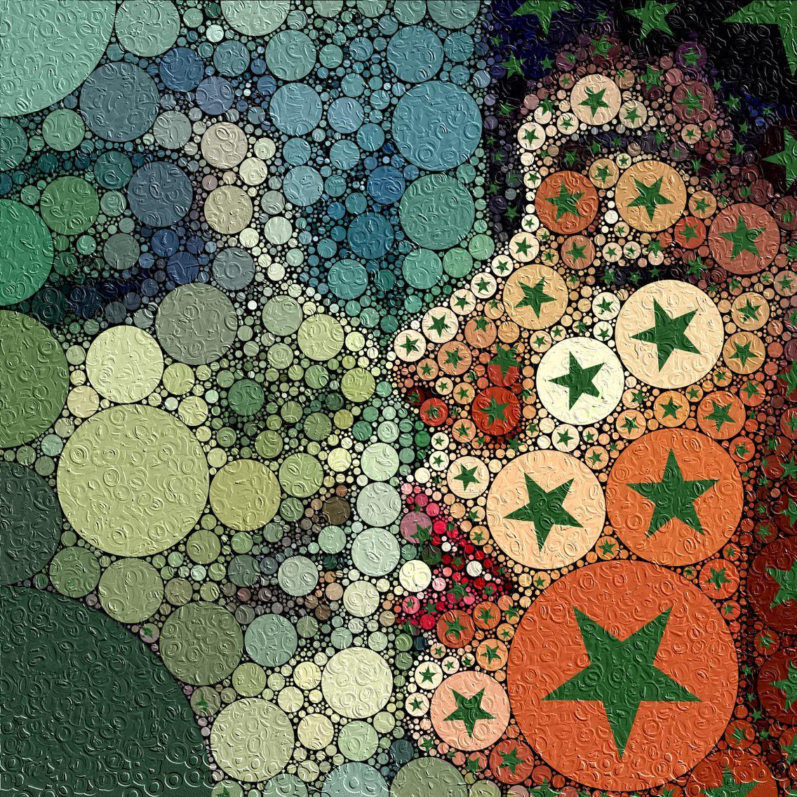 Reflections #abstract #shmakoff #stars  #arte